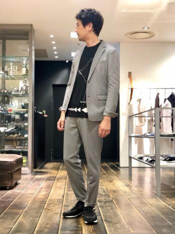 デザインプリント7分はインナーでも1枚着で大丈夫なすぐれもの。
