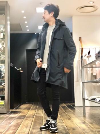 丈夫な生地でありながら、軽さもあり着心地良く着用いただける、そんなコート
