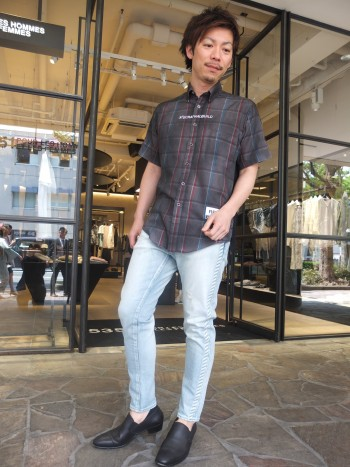 ROOKTEE×CHECKSHIRTS②style