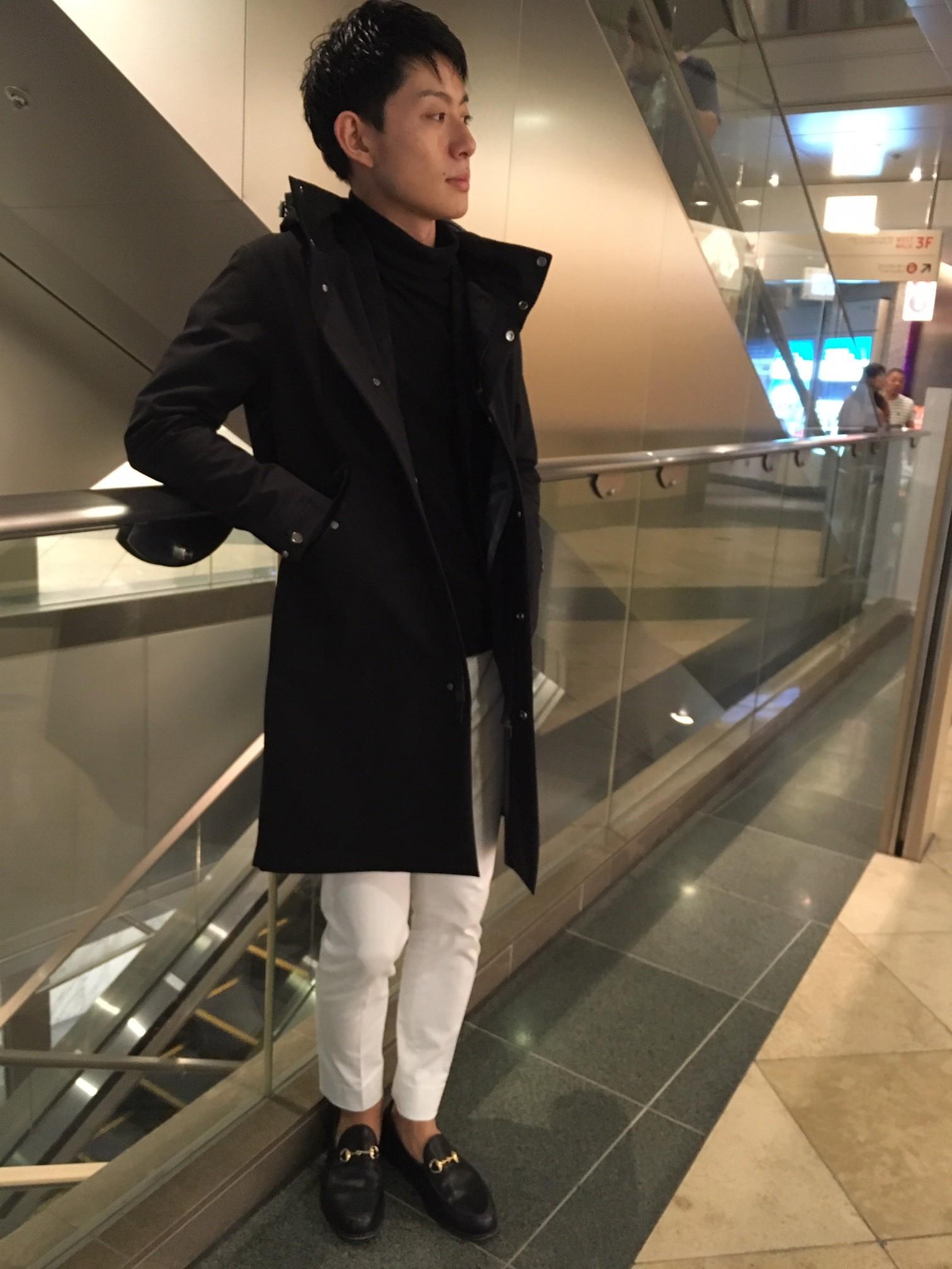 軽めのコートはいかがですか?