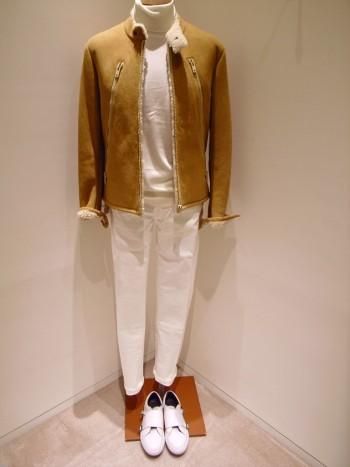 Maison Margiela    Mouton riiders jacket