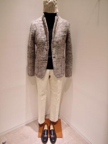 DESIGNWORKS      Knit jacket