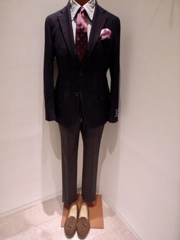 DESIGNWORKS   [ANGELICO] Navy stripe jacket