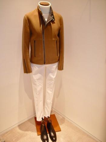 DESIGNWORKS    Wool double face riders jacket