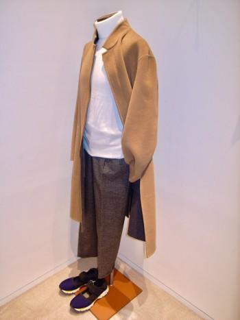 DESIGNWORKS    Wool double face coat