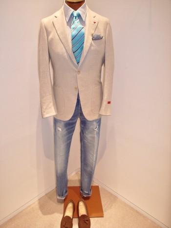 ISAIA        SAILOR   2button jacket
