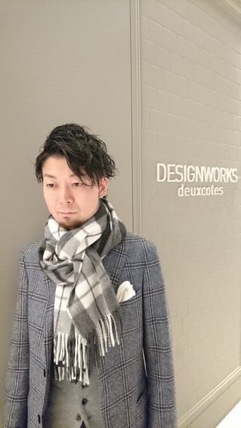 ☆BEGG&CO×DESIGNWORKS ほっこりマフラー☆