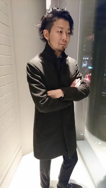 ☆メルトンスタンドカラーコート☆