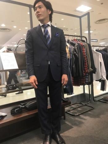 スーツスタイル!